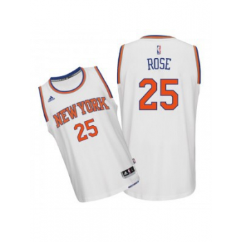 Adidas Maillot Swingman NBA New York KNICKS D.Rose Blanc