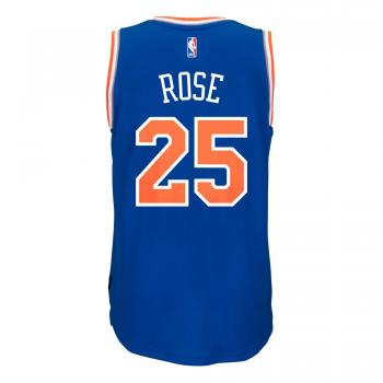 Adidas Maillot Swingman NBA New York KNICKS D.Rose Bleu