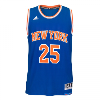 Adidas Maillot Swingman NBA New York KNICKS D.Rose Bleu