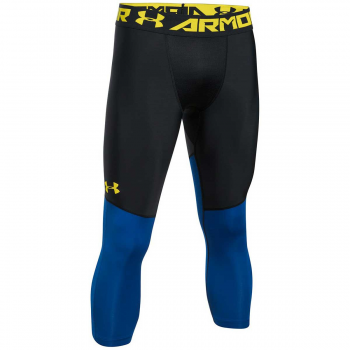 Under Armour SC30 3/4 Tight Noir/Bleu