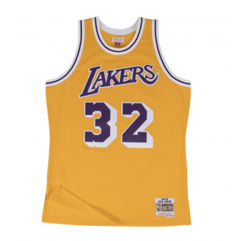 SWINGMAN NBA MAGIC JOHNSON LAKERS JAUNE MITCHELL&NESS