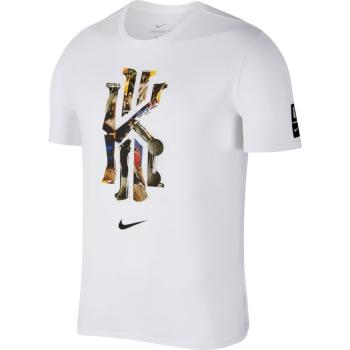 Nike T-Shirt Dry Kyrie Logo Blanc