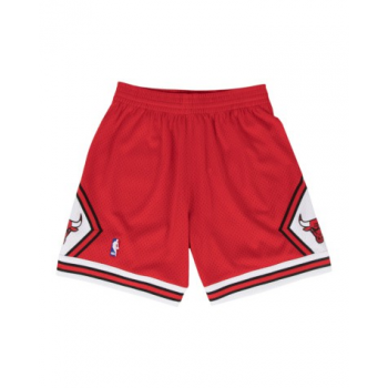 Short Swingman Chicago Bulls Rouge Mitchell & Ness