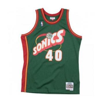 SWINGMAN NBA SHAWN KEMP SONICS MITCHELL&NESS