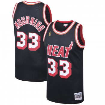 Swingman NBA Alonzo Mourning Miami Heat Mitchell&Ness