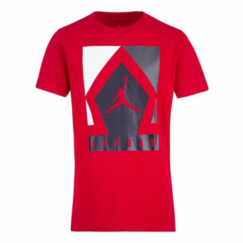 Jordan Kid TS Diamond Jumpman Rouge