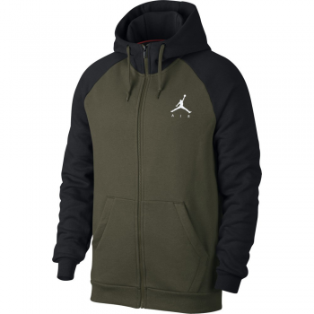 Jordan Sweat Sportswear Jumpman Air Fleece FZ Kaki