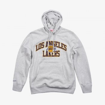 LOS ANGELES LAKERS PLAYOFF WIN HOODY Mitchell & Ness