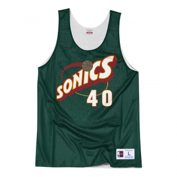 NBA Reversible Mesh Tank Top Shawn Kemp All Star 1996