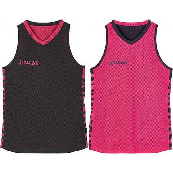 Spalding Essential Reversible shirt 4her Anthracite/Rose