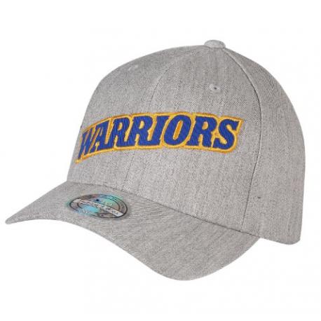 Casquette Golden State Warriors M&N Jersey logo Gris