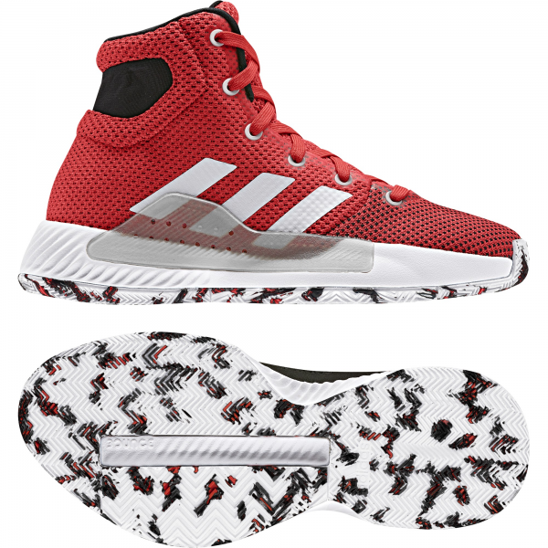 Adidas Pro Bounce Madness 2019 Enfant Rouge
