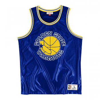 NBA Dazzle Tank Top Golden State Warriors Mitchell&Ness