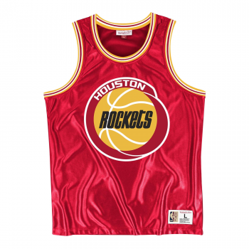 NBA Dazzle Tank Top Houston Rockets Mitchell&Ness