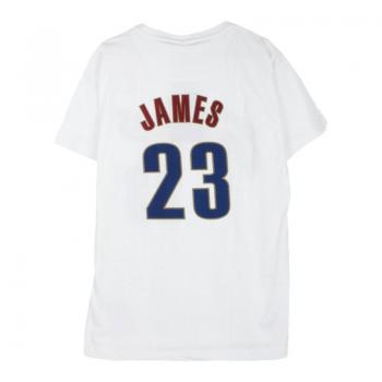 Tee-Shirt Lebron JAMES Blanc Mitchell&Ness