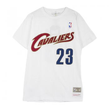 Tee-Shirt Lebron JAMES Blanc Mitchell&Ness