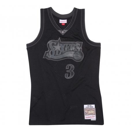 Swingman NBA Allen IVERSON Sixers Black