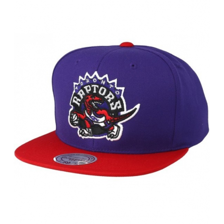 NBA SATIN FUSED SNAPBACK TORONTO RAPTORS Mitchell&Ness