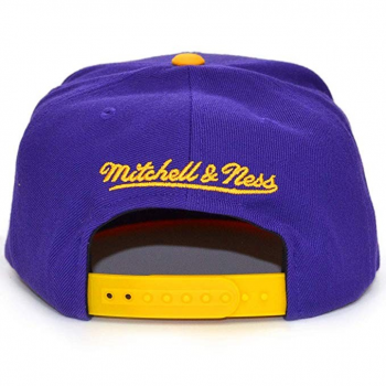 NBA SATIN FUSED SNAPBACK LOS ANGELES LAKERS Mitchell&Ness