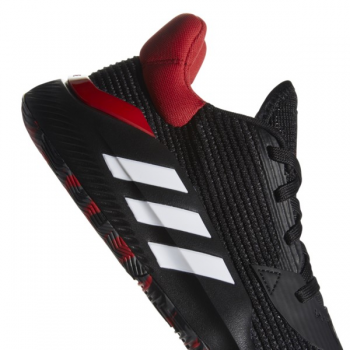 Adidas Pro Bounce 2019 Low Noir/Rouge