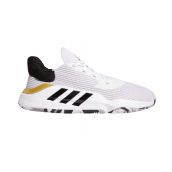 Adidas Pro Bounce 2019 Low Blanc