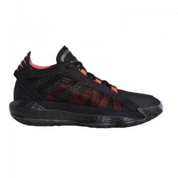 Adidas DAME 6 Enfant Noir-Fluo