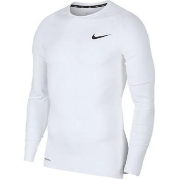 Nike Pro Top ML Blanc
