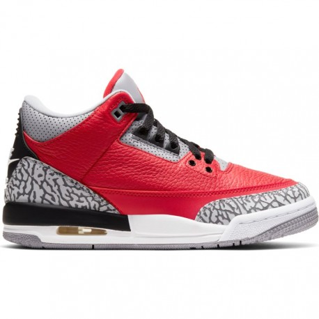 air jordan grise et rouge