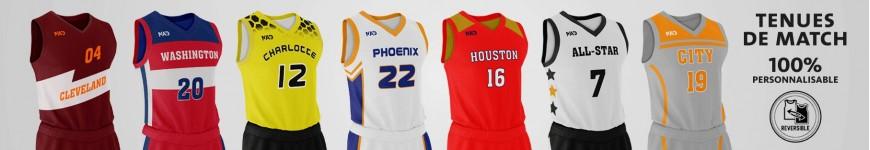 Tenues pour joueurs de basketball en clubs - MadinBasket